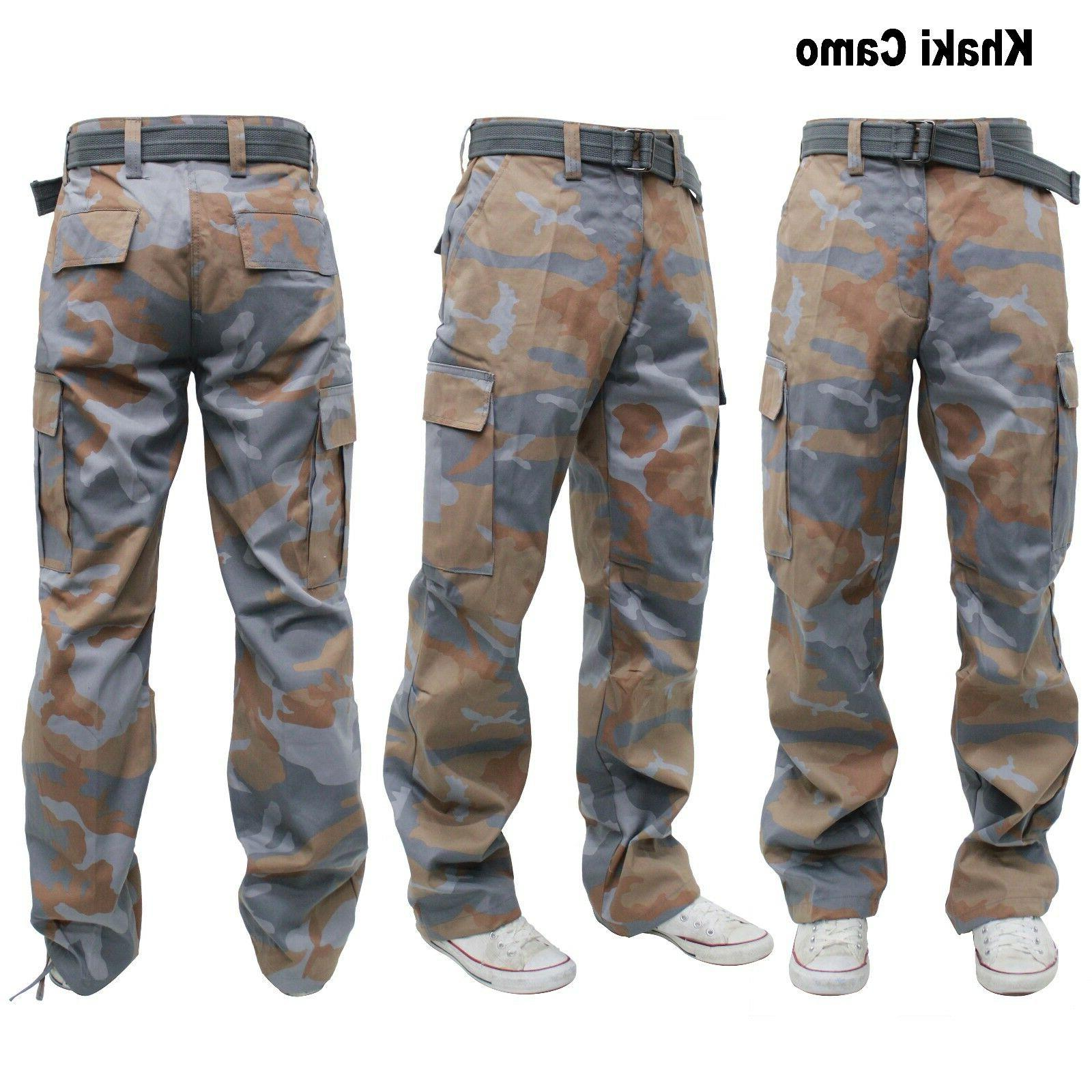 BIG TALL MILITARY CARGO PANTS