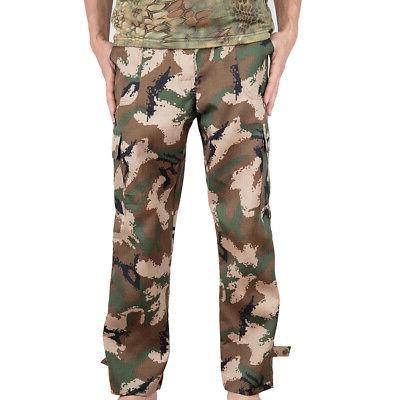 Camo Army Workout Loose 4 Pocket