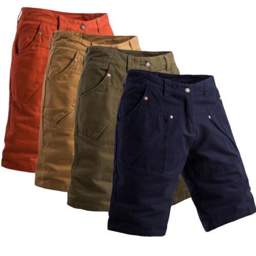 Men Cargo Shorts Casual Trousers