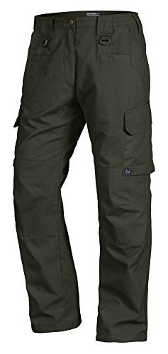 LA Police Gear Men Operator Tactical Pant with Elastic Waist