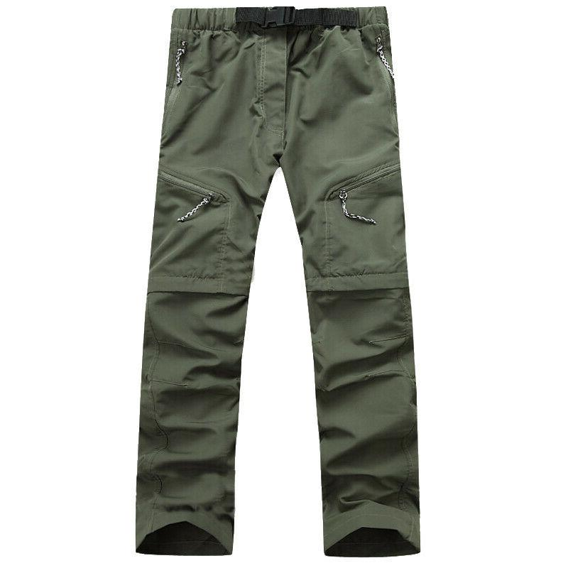 Men Pants Hiking Cargo Long