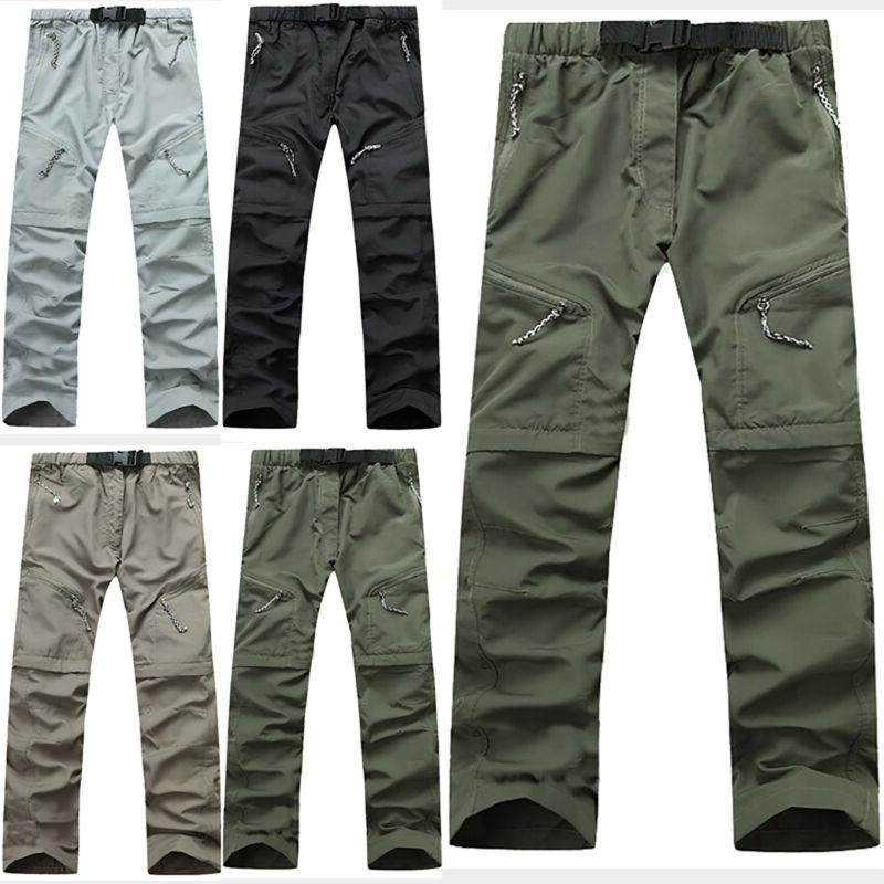 men casual pants tactical waterproof hiking climbing
