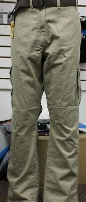 Men's Wrangler Barlow Cargo Pants British Khaki 70brwbh
