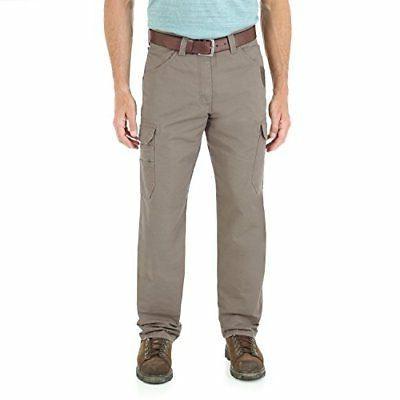 Wrangler Men's Big & Tall Cool Vantage Cargo Pant - Choose S