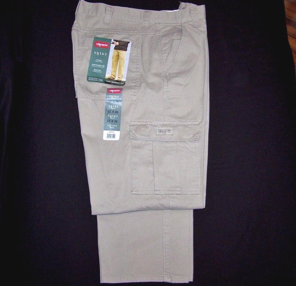 Men's Wrangler MAN Khaki Pants Fit Pocket 46, 48,