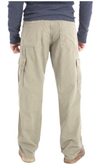 Men's Wrangler BIG Khaki Relaxed Fit Pocket 46, 48,