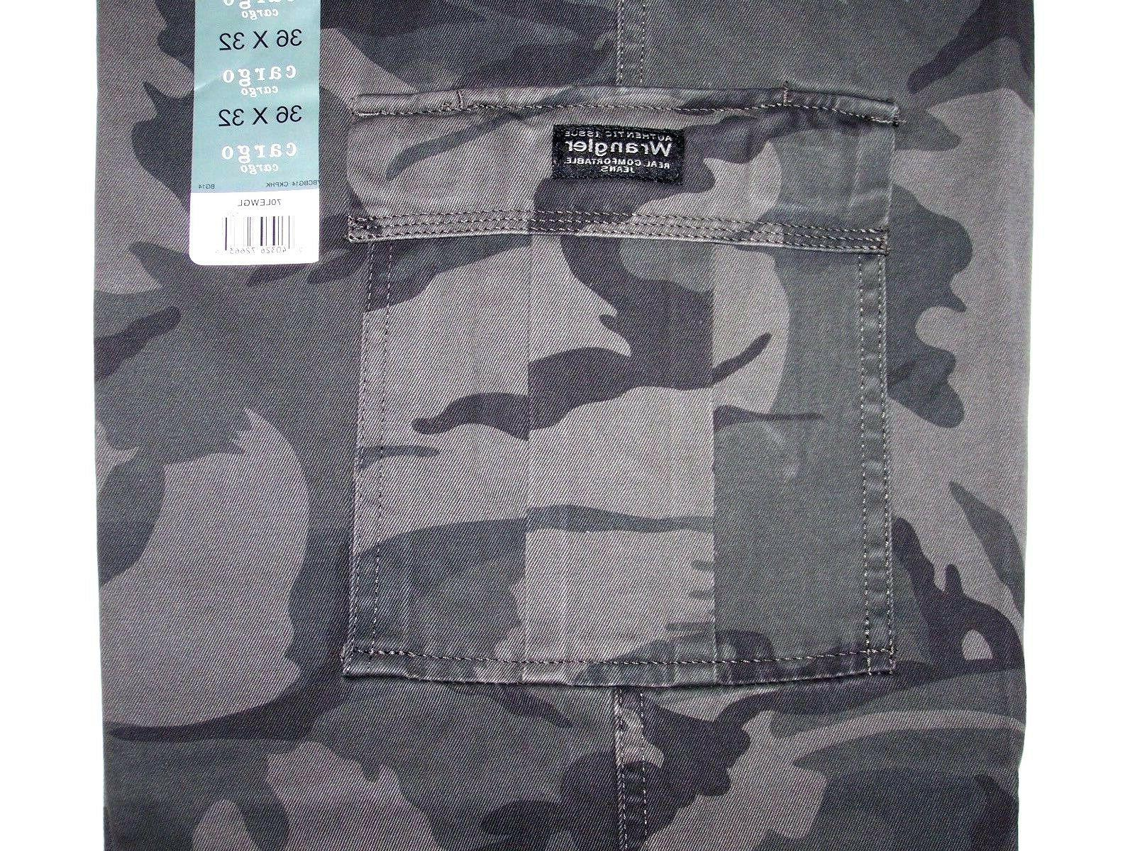 Men's Camouflage Cargo Relaxed Fit Straight Leg ALL SIZES!