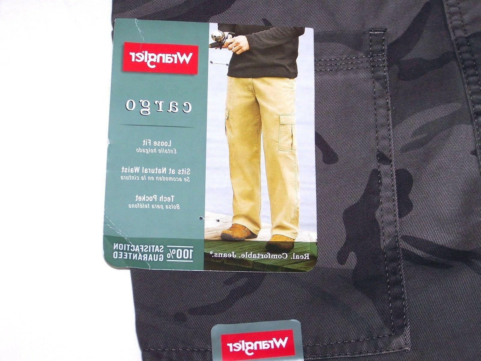 Men's Wrangler Cargo Pants Straight Leg ALL SIZES!