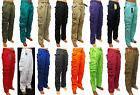 Men's PJ MARK cargo pants brown black olive khaki yellow ora