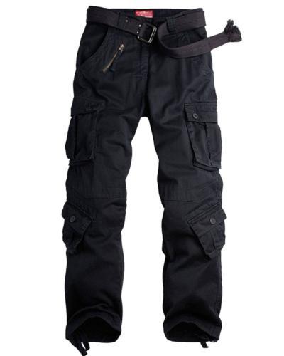 Jessie Kidden Men's Cargo Tactical Regular Trouser Army Comb