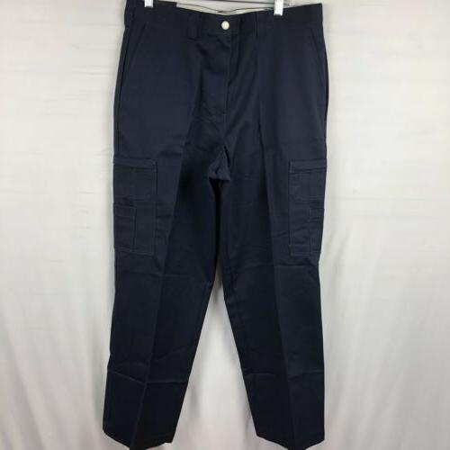 Dickies Men's Cargo Work Pants Size Navy blue