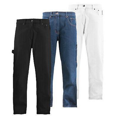 men s casual cotton denim jeans hammer