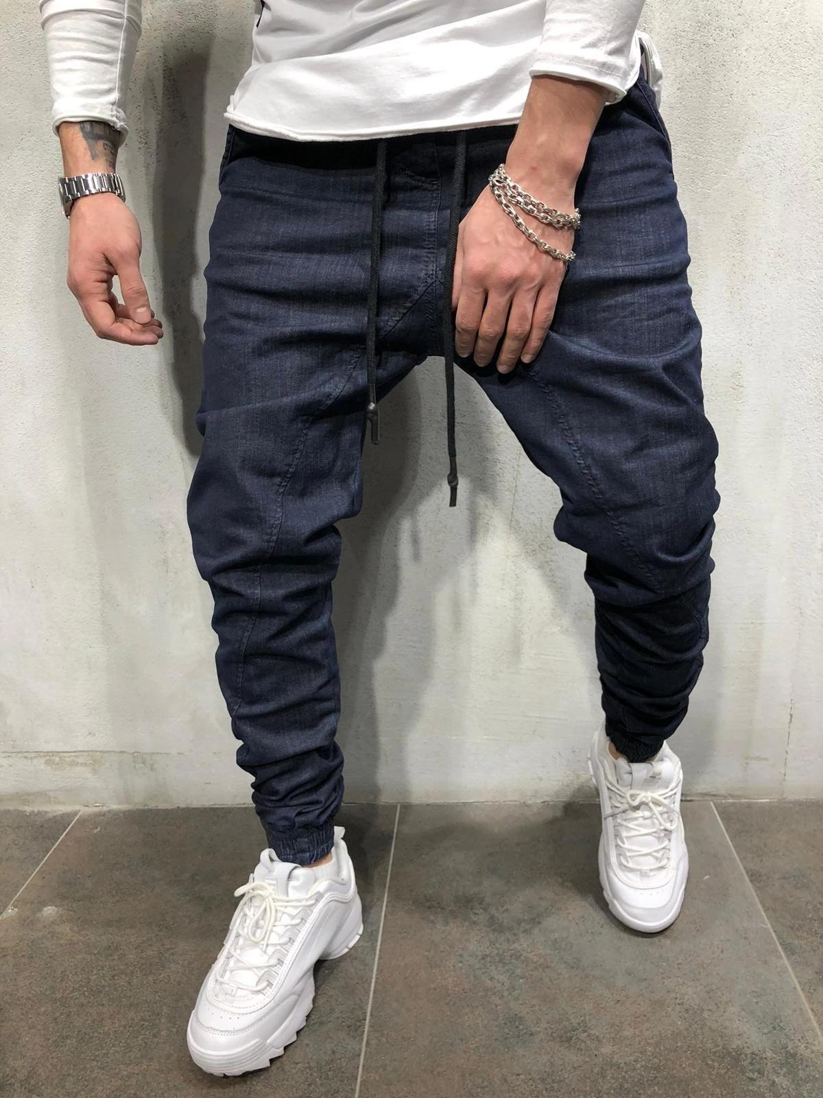 Pants Designer's Cargo Slim Jeans