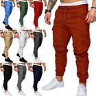 Men's Casual Pencil Jogger Cargo Pants Slim Fit Urban Straig