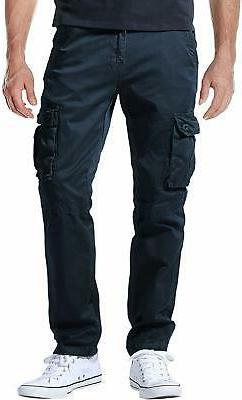 Match Men's Casual Wild Cargo Pants Outdoors Work Wear, 6531