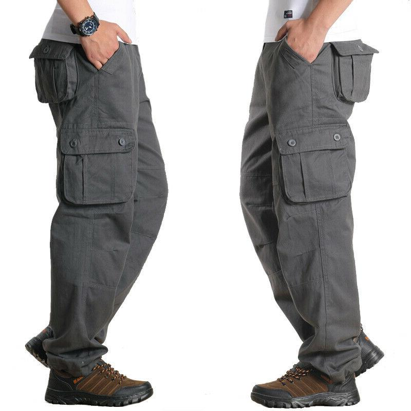 Mens Army Trousers Casual