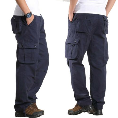 Men's Cotton Casual Military Army Work With Pocket