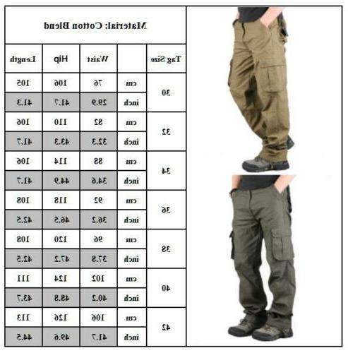 Men's Cotton Military Army With Pocket Relaxed
