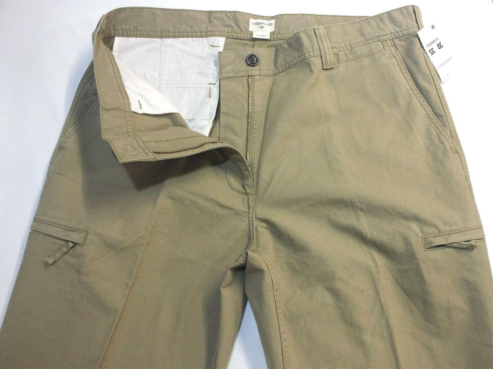 Dockers Crossover D3 Classic British Flat-Front Pants