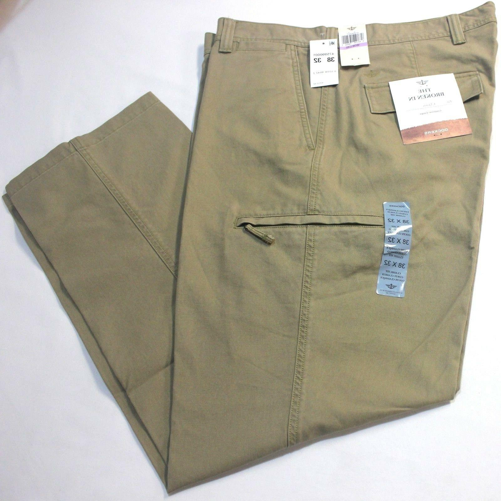 Dockers Crossover British Flat-Front Pants