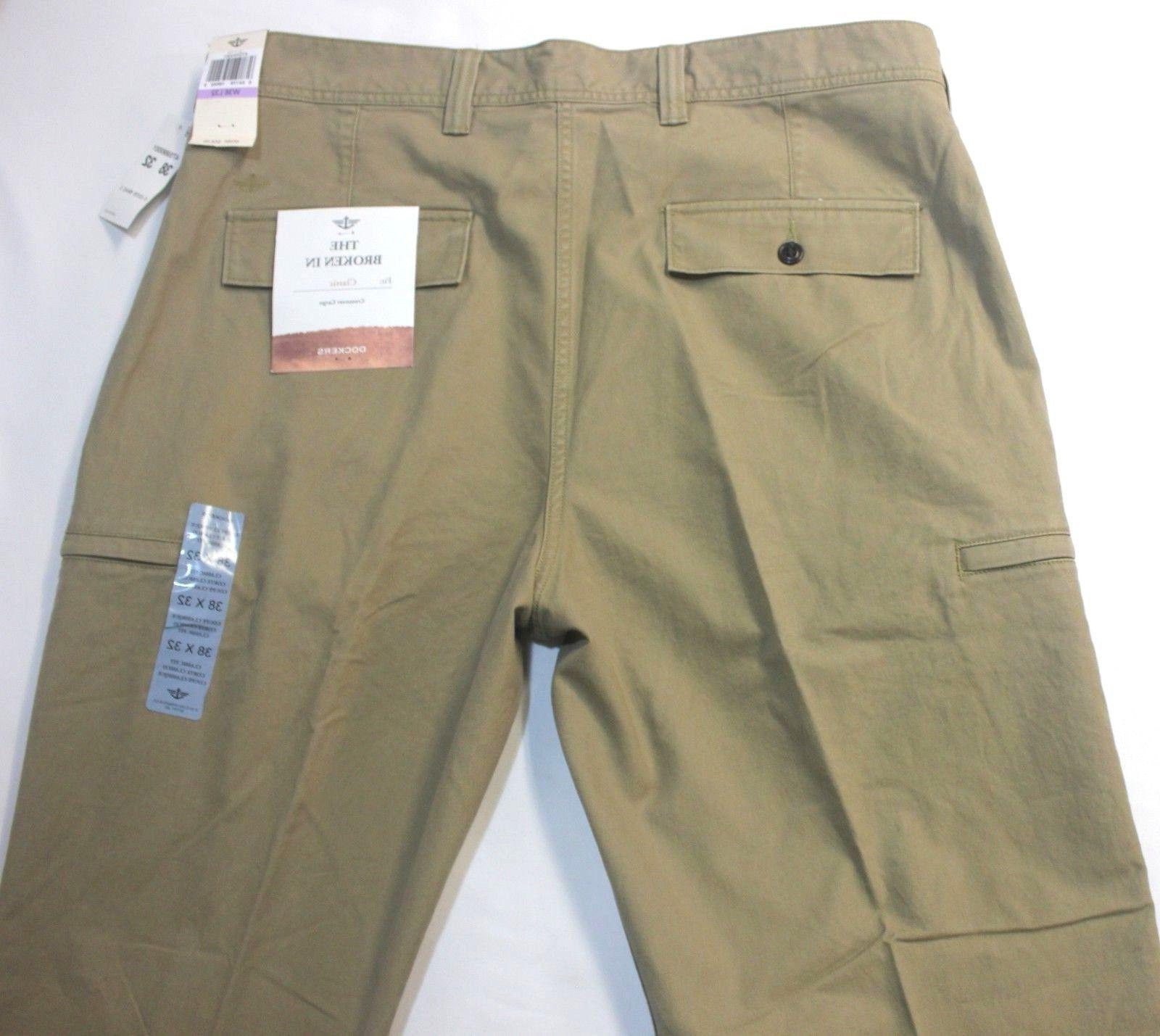 Dockers Crossover D3 British Khaki Cargo Pants