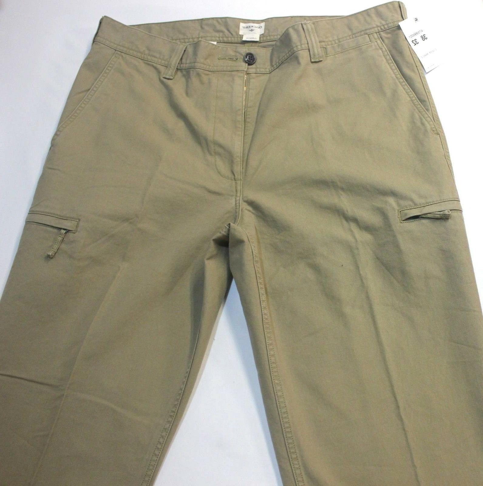 Dockers Crossover British Flat-Front Cargo Pants