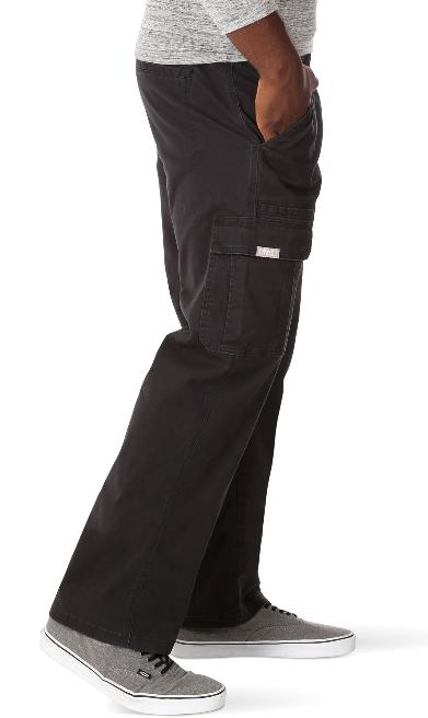 Men's Wrangler FLEX Cargo Pants Flat Front SIZES 34-52