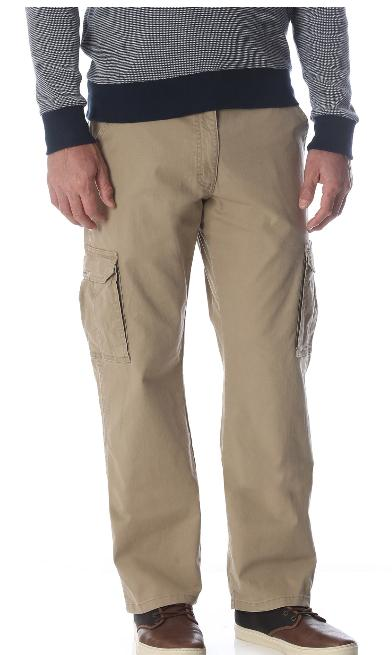 Men's Wrangler Cargo Pants Relaxed Fit Straight 34-46