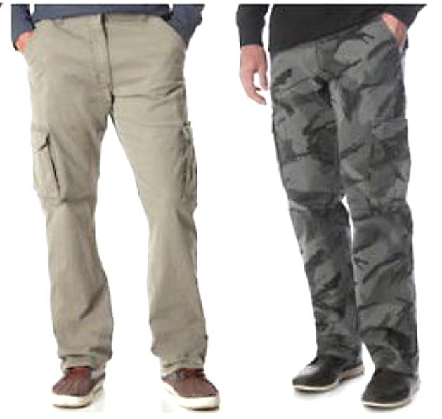 men s flex waist cargo pants relaxed