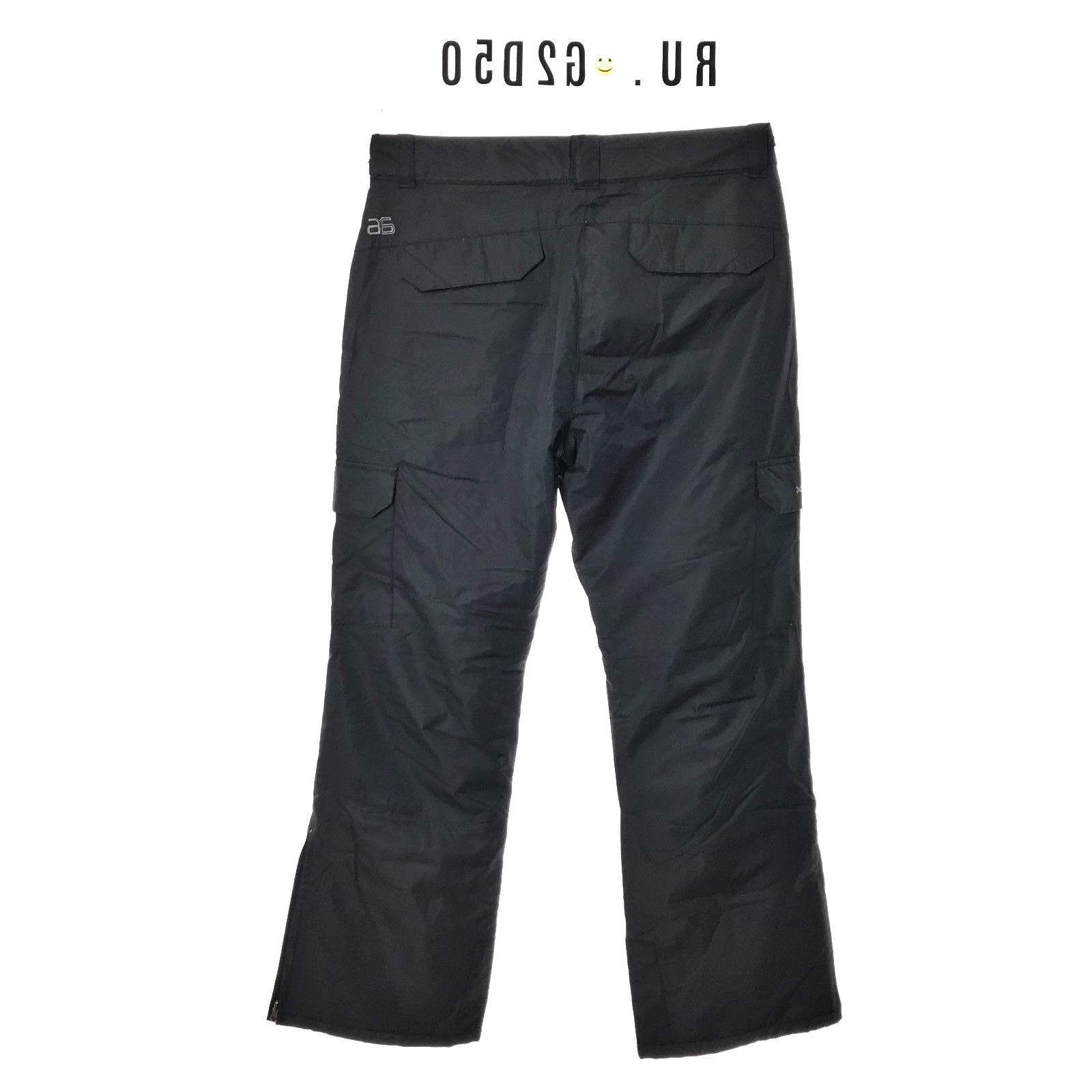 Arctix Cargo Black Pants SZ Medium Snow