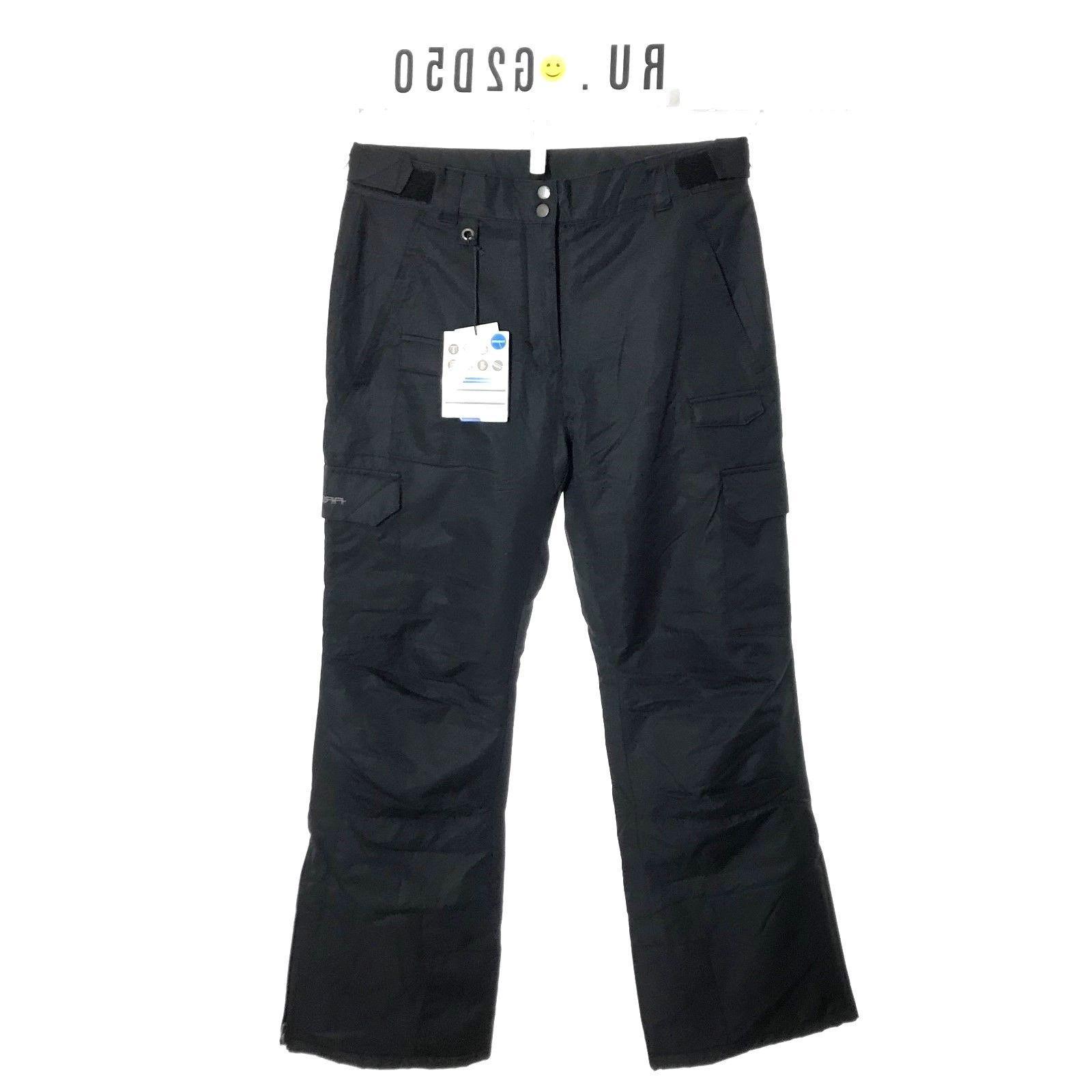 men s marksman cargo black pants sz
