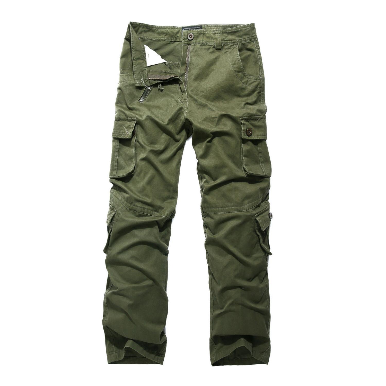 Men's Cargo Pants Camouflage Overall Tactical Slacks