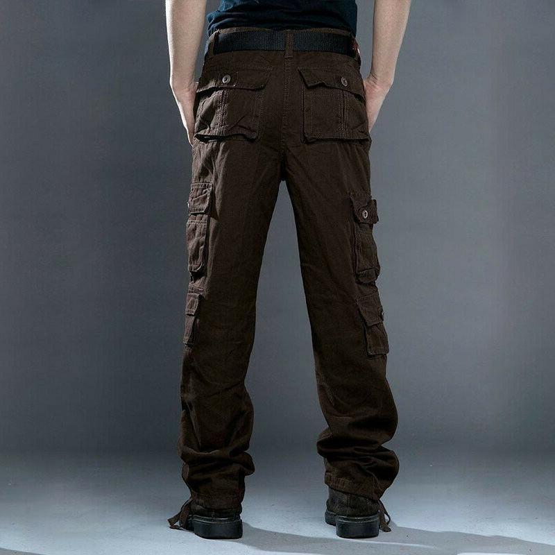 Men's Pants Combat Camo Army Trousers