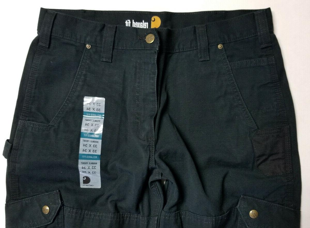 CARHARTT RELAXED FRONT CARGO PANTS - SIZE 33 - NEW
