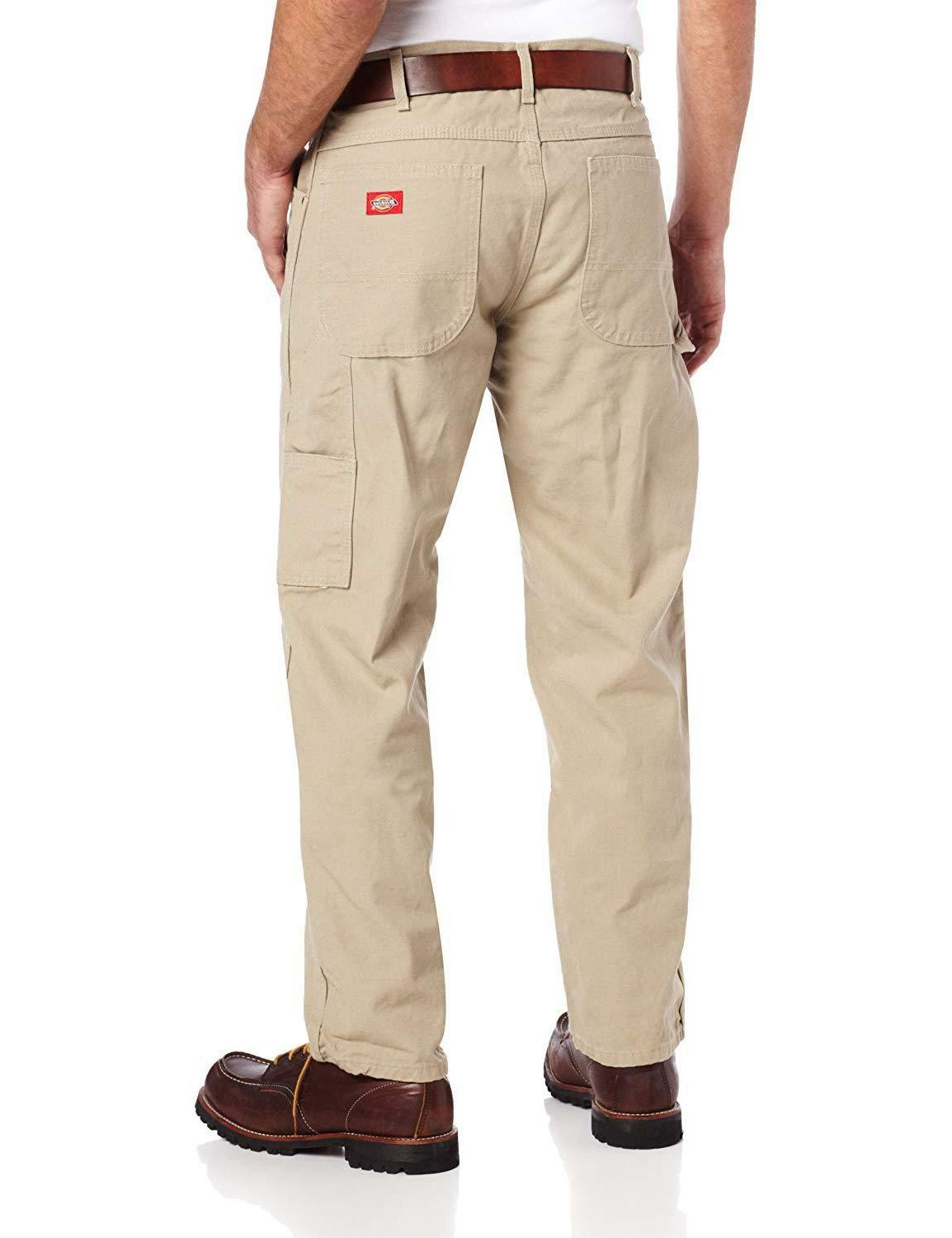 Dickies Men's Straight-Leg Duck With Pockets