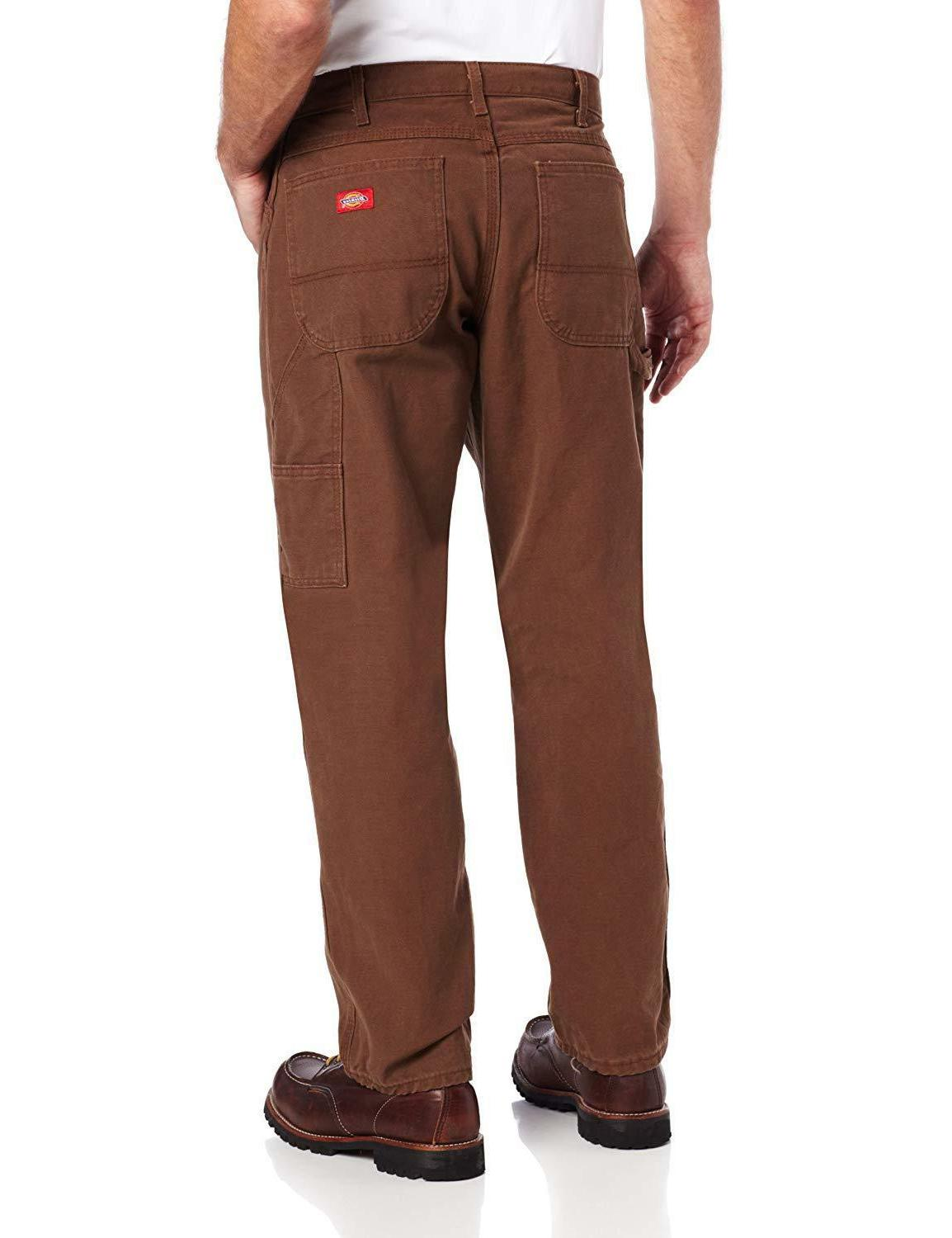 Dickies Relaxed Straight-Leg Duck Jean With Pockets