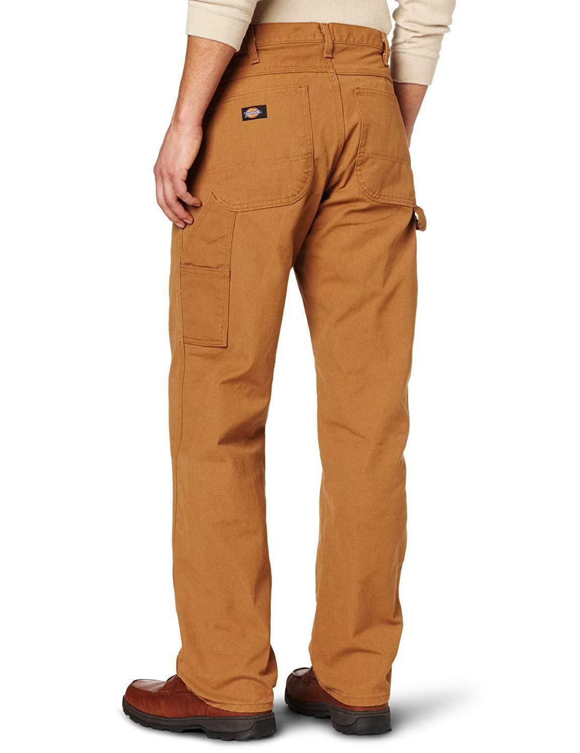Dickies Men's Relaxed Fit Straight-Leg Carpenter With Tool
