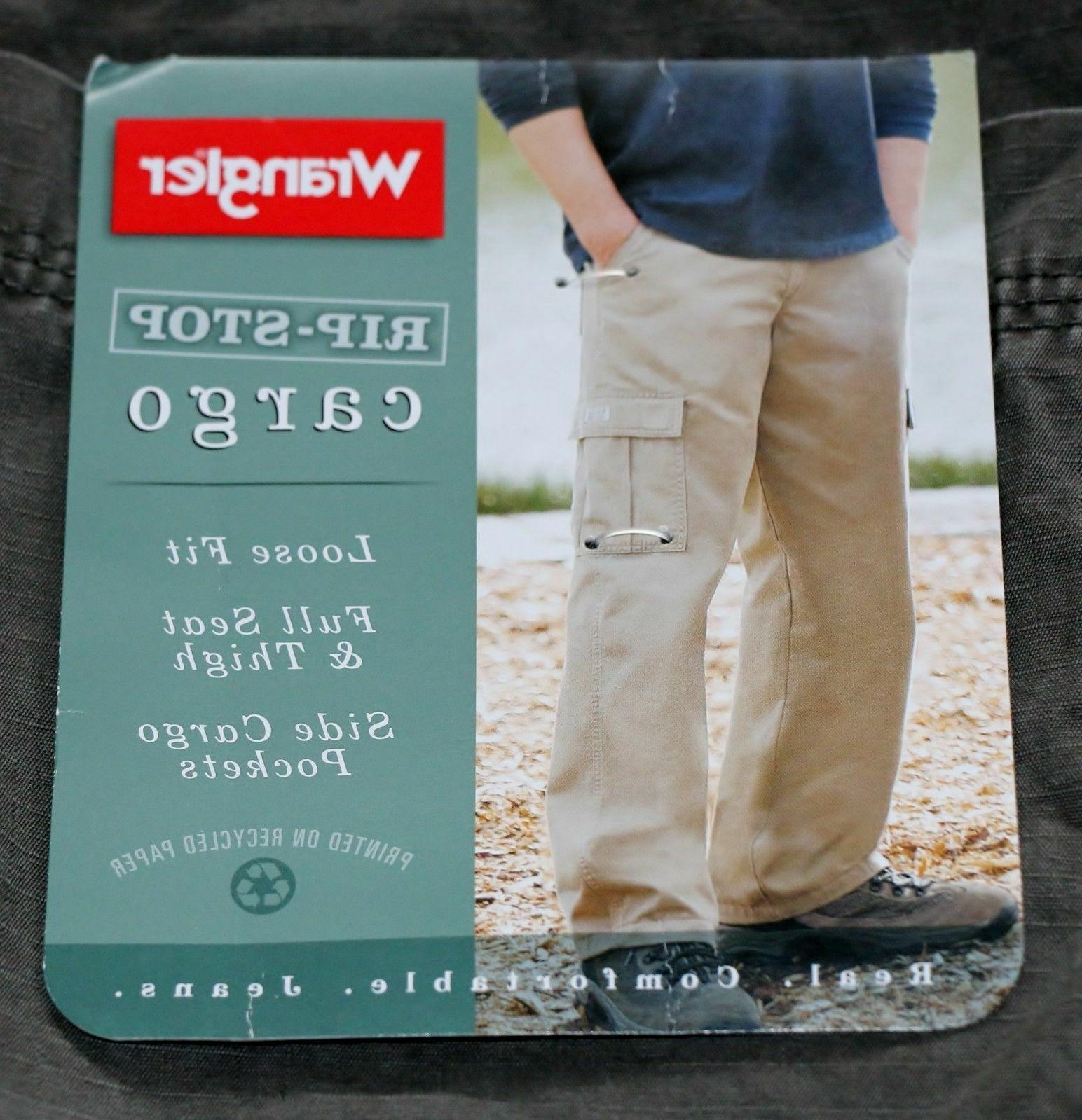 Wrangler Pant Relaxed Fit Size