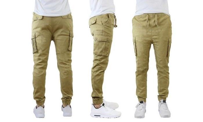 Men's Slim Stretch Cotton Pants
