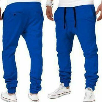 Men's Fit Urban Straight Trousers Pencil Jogger