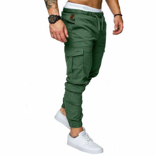 Men's Straight Leg Trousers Pencil Cargo