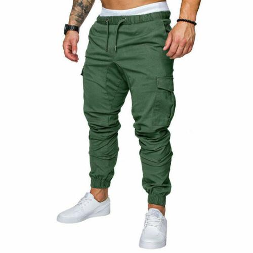 Men's Straight Trousers Casual Pencil Jogger