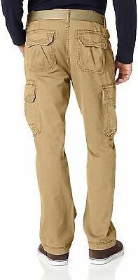 Unionbay Men's Relaxed Fit Pant, Khaki, 32x32