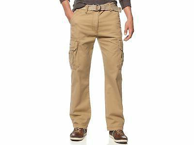 men s survivor belted cargo pants khaki