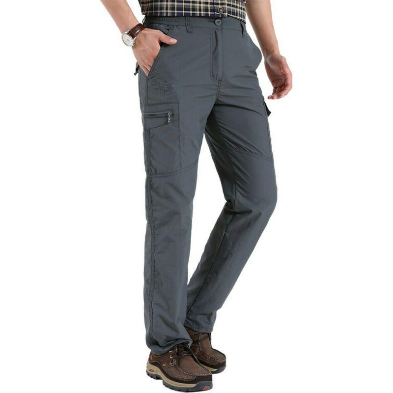 Men Tactical Cargo Pants Pockets