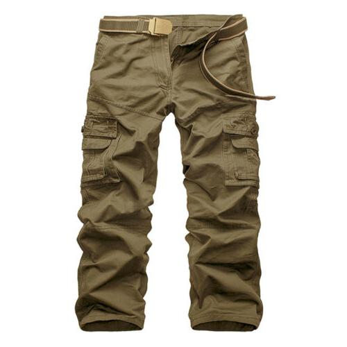 Men's Tactical Cargo Long Pockets Trousers