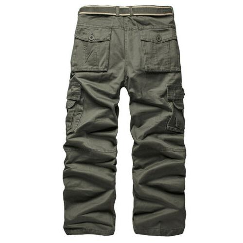 Cargo Pants with Pockets Trousers US