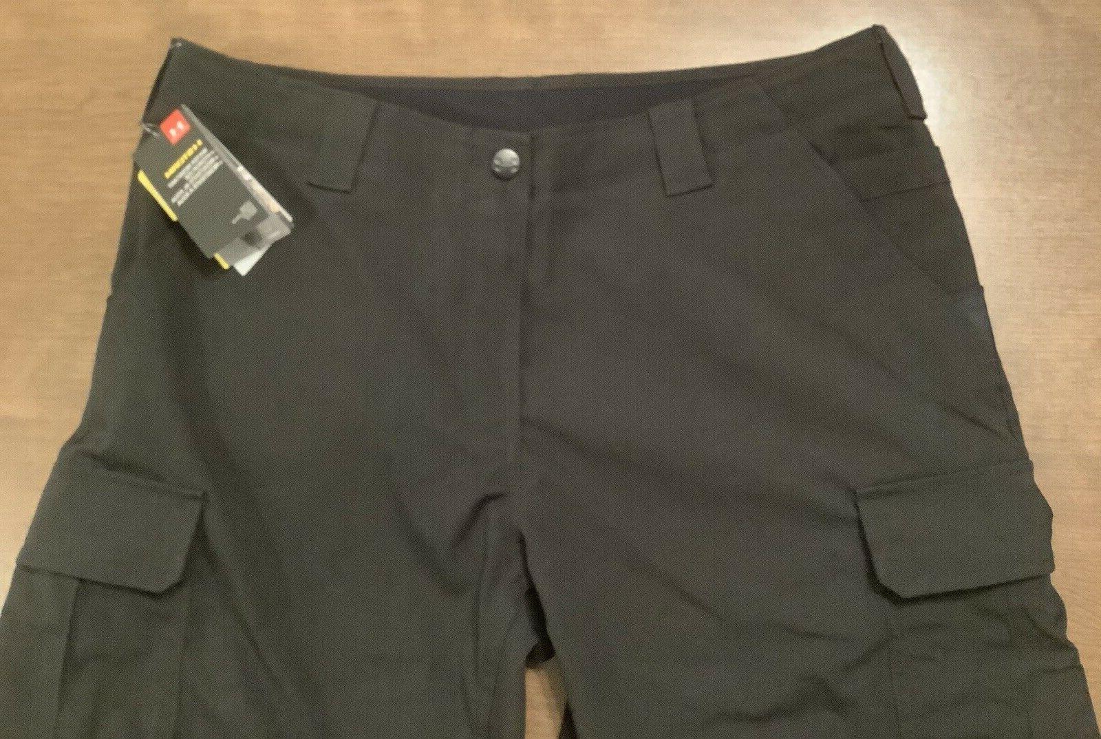 Under Men's UA Pants 1265491 Black 40x32 NWT