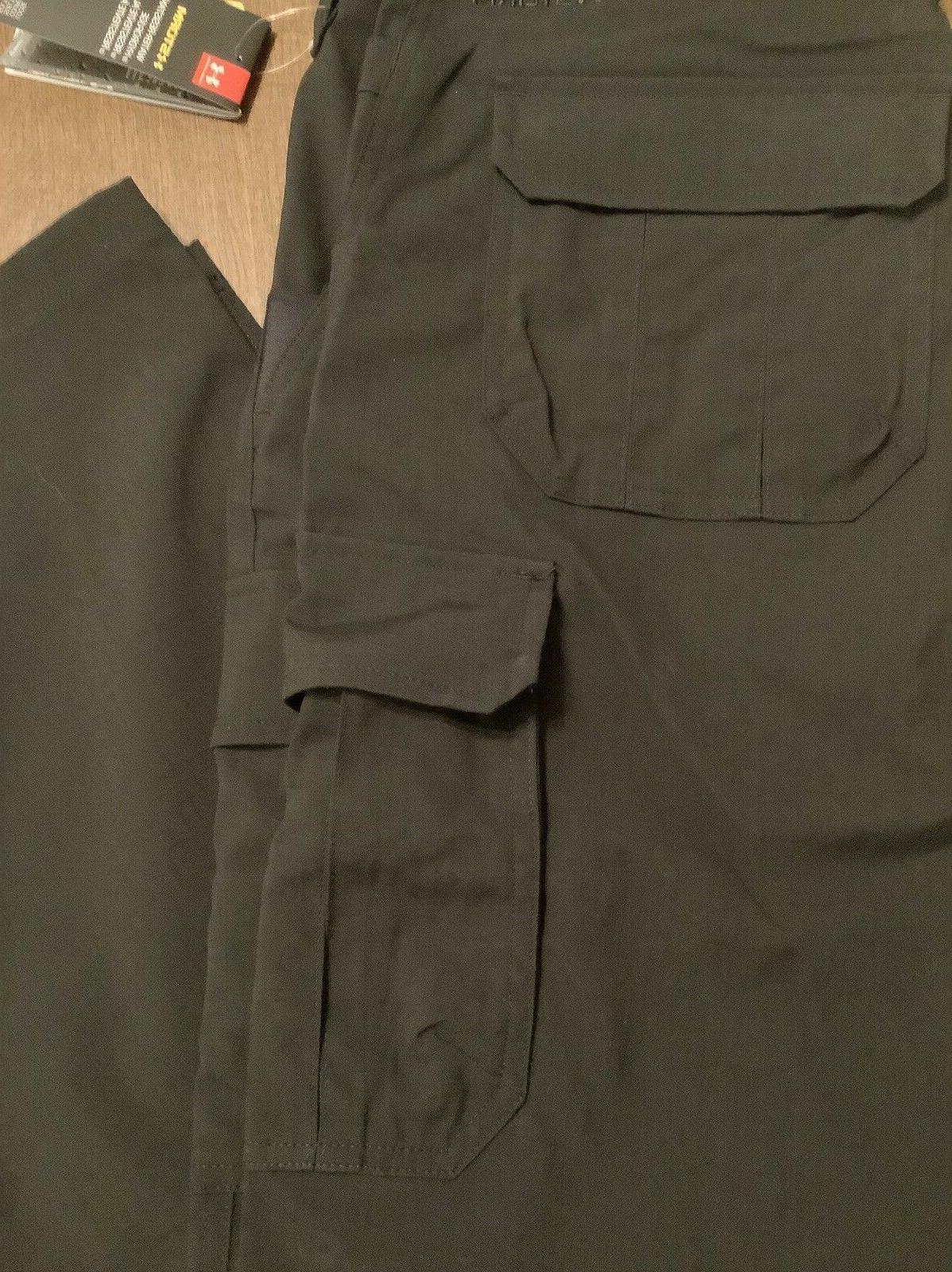 Under Armour Storm Pants 1265491 Black 40x32 NWT