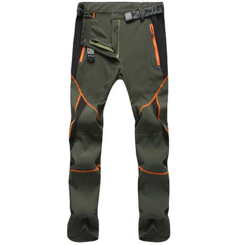 Men's Waterproof Pants Outdoor Hiking Trousers Dry